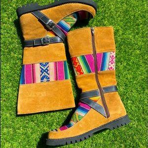 Caterpillar Yoaan Tall Suede Boots 🌿